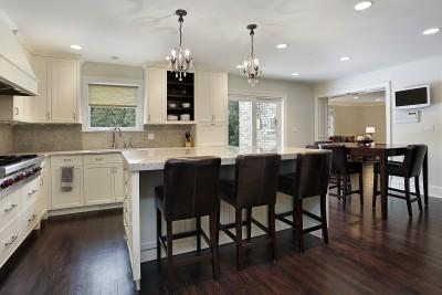 Køkkenindretning – hvis I har et stort køkken