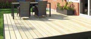 Udbyg huset med en flot og anvendelig terrasse
