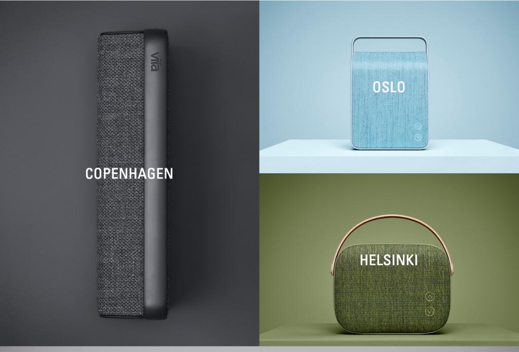 Indret boligen med en stilfuld audio speaker med unikt design