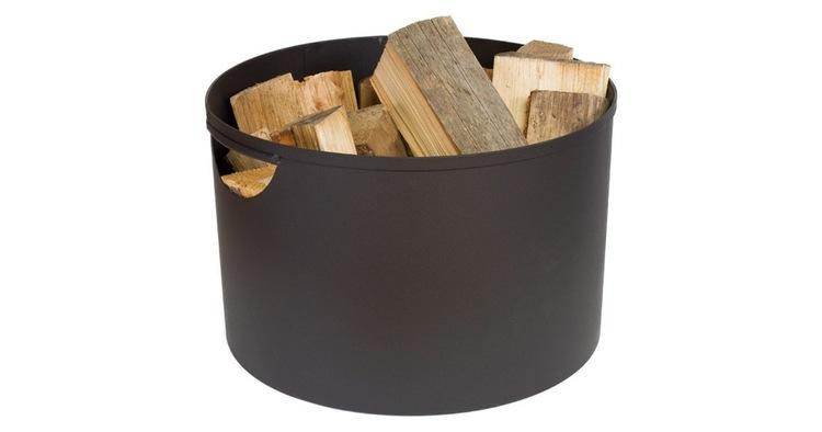 Få en praktisk brændekurv til opbevaring af brænde
