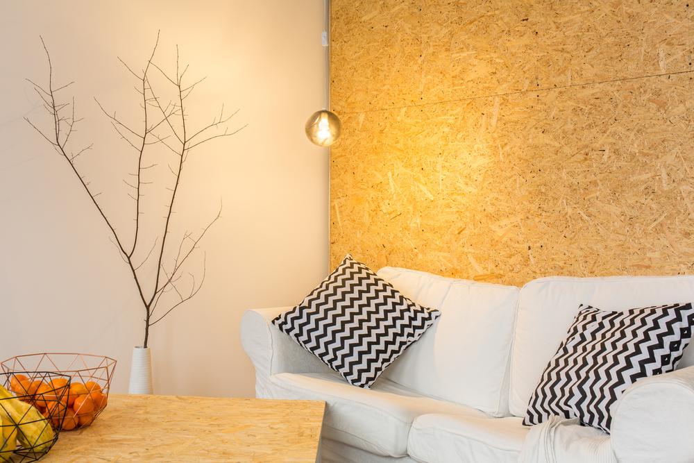 En hyggekrog i den moderne stue